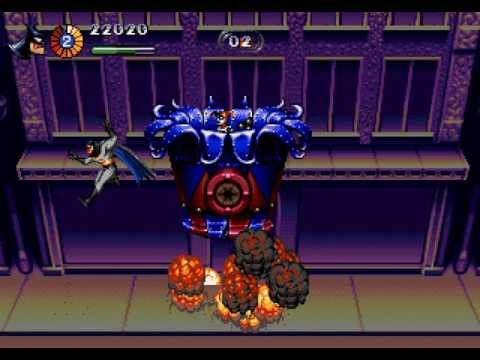 The Adventures of Batman and Robin Longplay (Mega Drive/Genesis) [60 FPS]