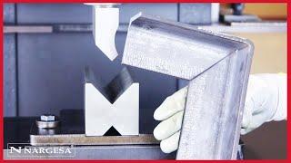 MX700 كيف يمكن تصنيع العديد من القطع المعدنية بواسطة آلة التثقيب الهيدروليكية