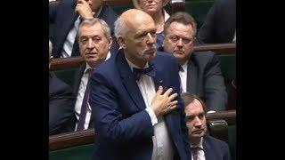 Ślubowanie posłów Konfederacji - posiedzenie Sejmu IX kadencji 12.11.2019