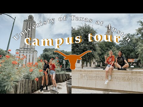 Campus Tour of The University of Texas at Austin #utaustin