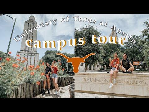 Campus Tour Of The University Of Texas At Austin #utaustin