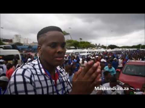 Abalandeli beNdlamlenze, Khuzani Mpungose eThekwini (25-03-2018)