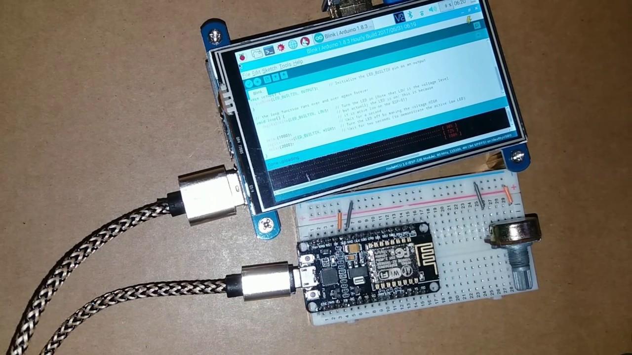 Add esp core for arduino to ide run on