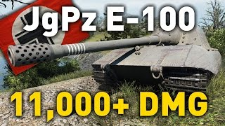 World of Tanks || Jagdpanzer E-100 - Unexpected Friends
