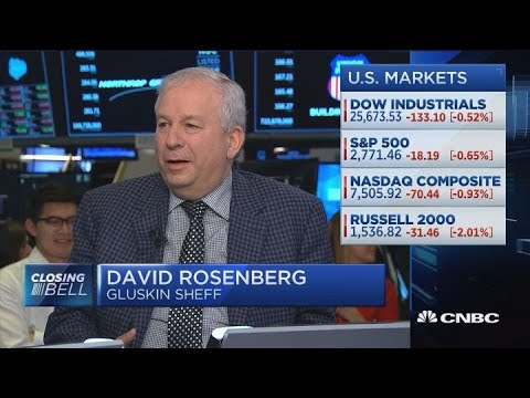 Gluskin Sheff's David Rosenberg: Fed Tightening May Lead To Recession