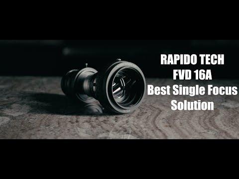 Rapido FVD 16A + BMPCC 4K Anamorphic Setup : bmpcc