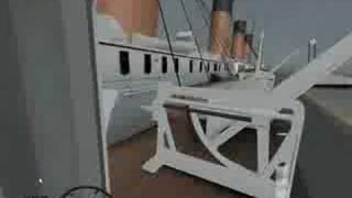 Titanic, trip to New York, ship sim 08