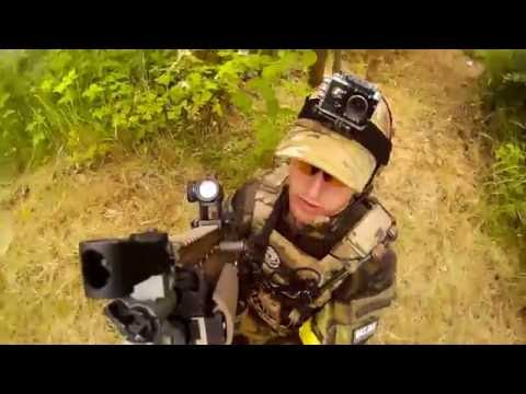 Airsoft 4.BRN - Capture The Flag (WE SCAR & KAC PDW GBBR)