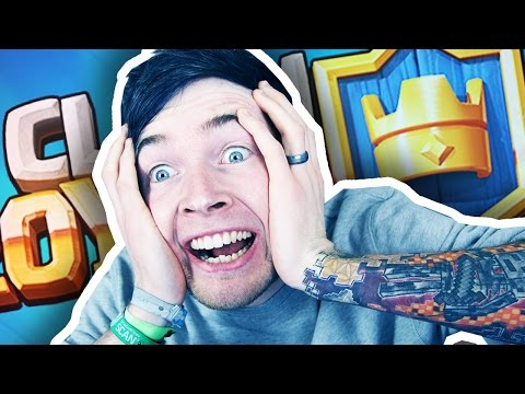 I SUCK AT CLASH ROYALE!!!