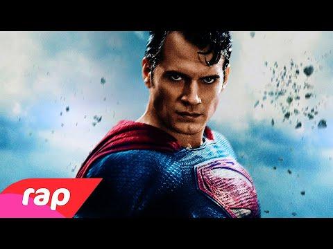 Rap Do Superman - HOMEM DE AÇO | NERD HITS