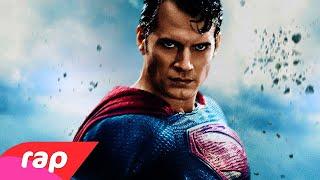 Rap do Superman - HOMEM DE AÇO   NERD HITS