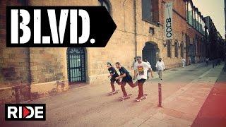 BLVD Spain Tour with Daniel Lebron, Rodrigo Petersen & Danny Cerezini