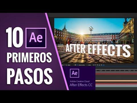 10 PRIMEROS PASOS para usar AFTER EFFECTS CC