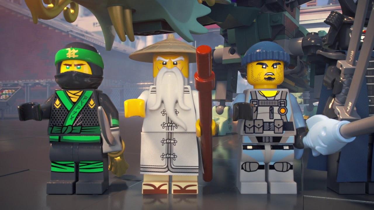 Le dragon d 39 acier de lloyd lego ninjago product animation 70612 youtube - Ninjago dragon d or ...