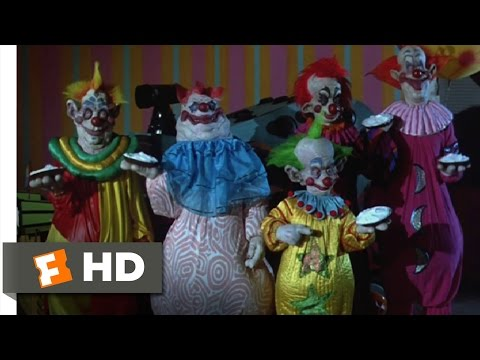 Killer Klowns from Outer Space (9/11) Movie CLIP - Pied to Death (1988) HD