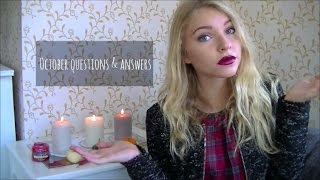 October Q&A! Thumbnail
