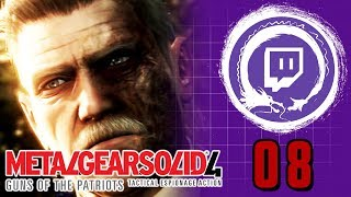 METAL GEAR SOLID 4: GUNS OF THE PATRIOTS | Metal Gear Saga Part 37: MOVIE FINALE | Stream Four Star