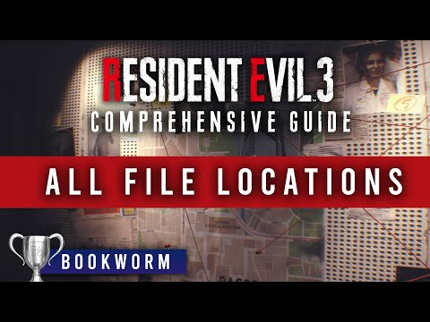 ALL FILE LOCATIONS In Resident Evil 3 Remake | SPOILERS