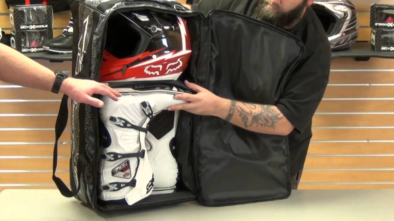 Fly Racing Tour Wheeled Gear Bag Review Youtube