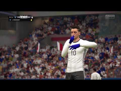 FIFA 17 Ozil goal