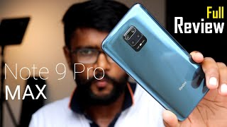Redmi Note 9 Pro MAX Full Review - Straight & Clear !!