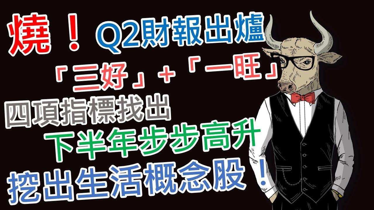 《老牛夜夜Talk》EP28  卜蜂(1215):燒!Q2財報出爐~「三好」+「一旺」下半年步步高升,挖出生活概念股