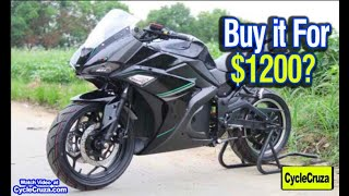 Buy $1200 Sportbike Motorcycle From China? | MotoVlog