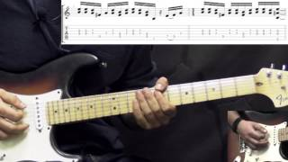 Band Of Gypsys Return Jimi Hendrix Power Of Soul Part1 Blues Guitar Lesson W/tabs
