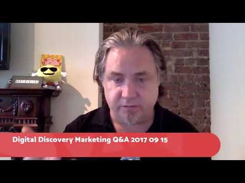 Content concepts in Facebook Live Digital Discovery - Ask Your Marketing & Strategy Q&A 2017 09 15
