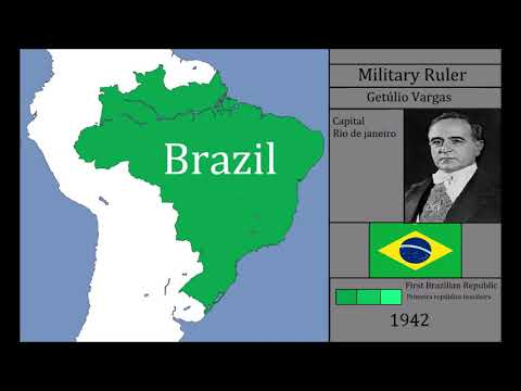 The History Of Brazil : Every Year PREFECTED