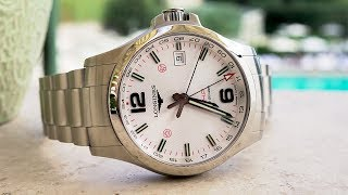 What makes a travel watch? Exploring Rome with the Longines Conquest V.H.P. GMT Flash Setting