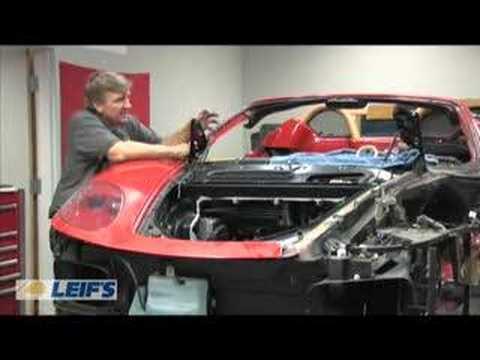 Leifs.com Ferrari Repair - Day Three
