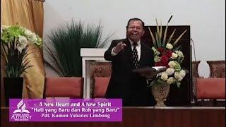 Hari Ketujuh Hati yang Baru dan Roh yang Baru - Pdt. Kamon Y. Limbong