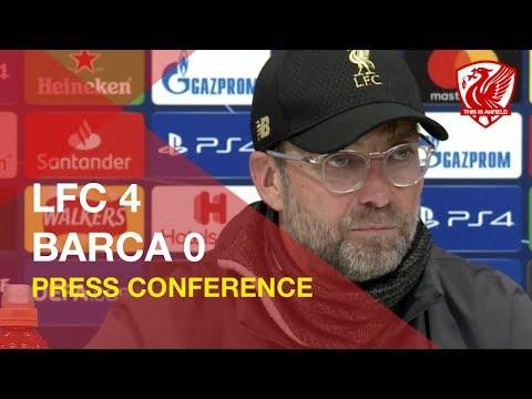 Liverpool 4-0 Barcelona   Jurgen Klopp Press Conference