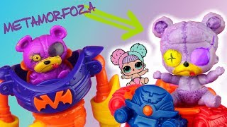 METAMORFOZA LOL Surprise  Super Zings ⚡ Toys Land