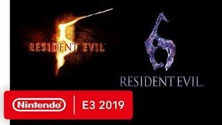 Resident Evil 5 & Resident Evil 6 - Nintendo Switch Trailer - Nintendo E3 2019