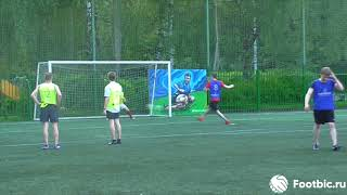 FOOTBIC.RU. Видеообзор [Формат 8х8] 26.05.2018 (Метро Сокольники). Любительский футбол