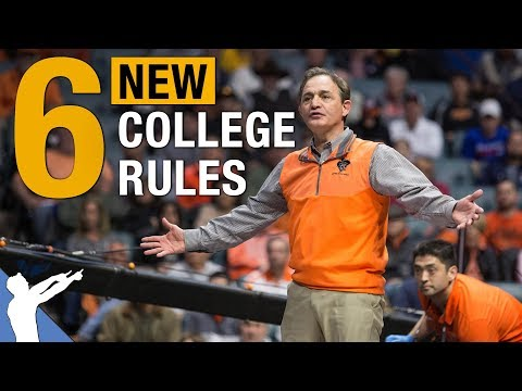 Official New Rule Changes For The 2019-2020 College Wrestling Season