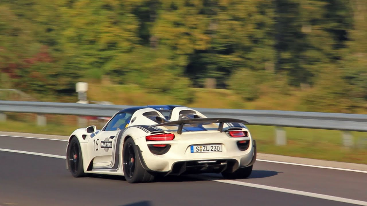 porsche 918 spyder fast fly by on the nurburgring youtube #2: maxresdefault