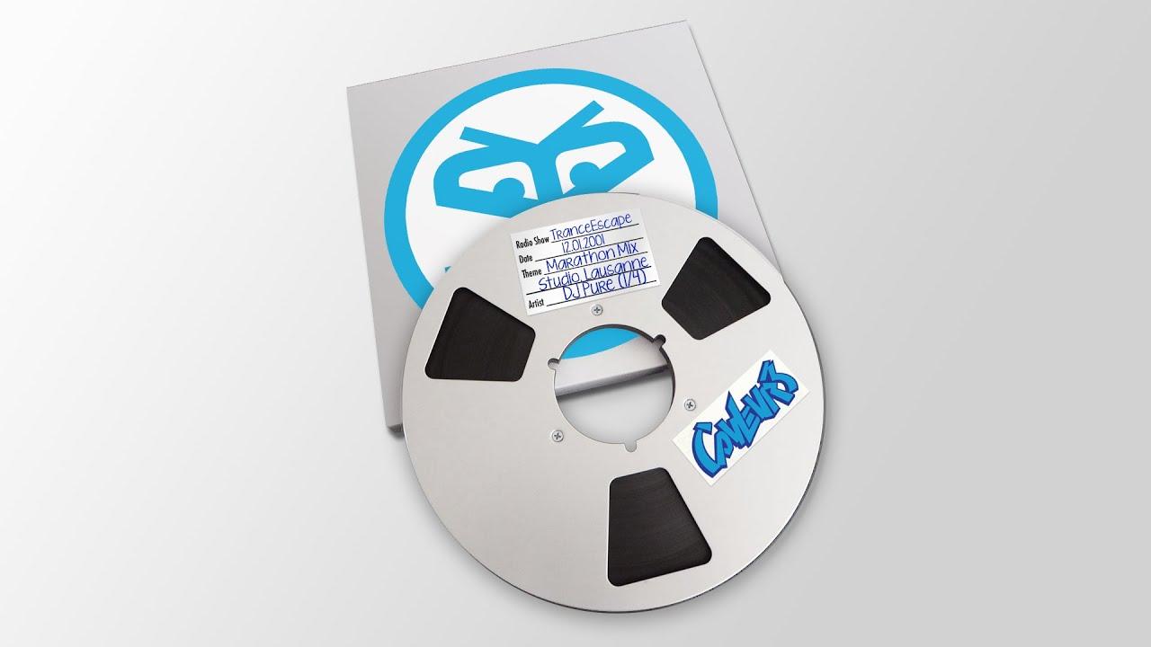 Trance Escape Radio Show - 2001 - DJ Pure (Marathon 1/4)