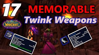 17 Memorable Classic WoW Twink Weapons
