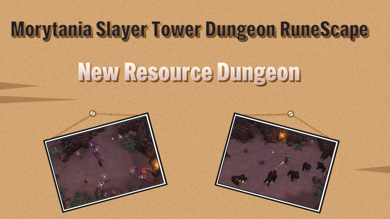 Kill Abyssal Demon & More in RS Resource Dungeon at Slayer Tower