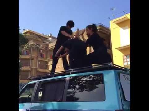 Live from Tripoli Lebanon - The Caravan الكرفانة