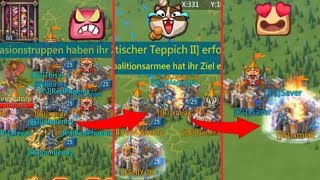 Trap in Fury eats a gangbang and gets zeroed after Rally - Lords Mobile