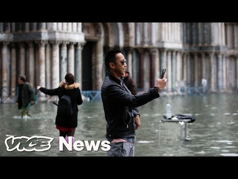 Venice Hit By Worst Flood In 50 Years