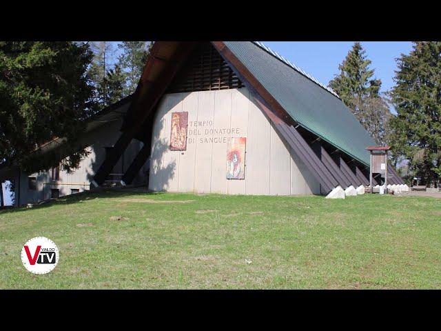 Inaugurazione Tempio Internazionale del donatore di sangue