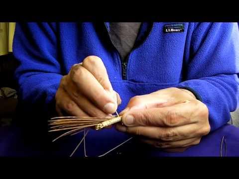 Making A Pine Needle Basket