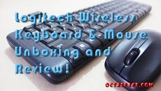 Logitech MK220 Wireless Keyboard Mouse Combo Unboxing & Review