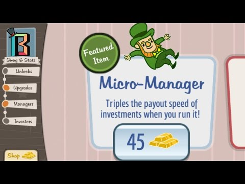 Buying the Micro-Manager! AdVenture Capitalist 104