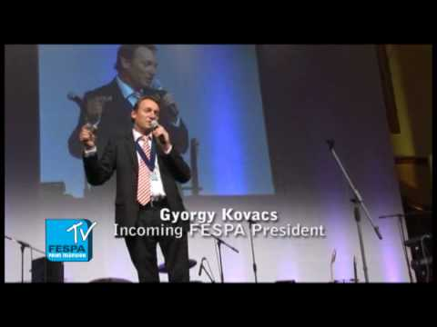 FESPA2010 Gala Night Introduction of New President - Part 1 of 2 - FESPA TV